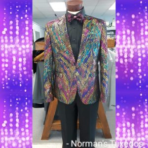 Flashy Mardi Gras Suit